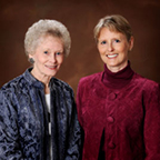 Donna Barnes and Terri McCoy