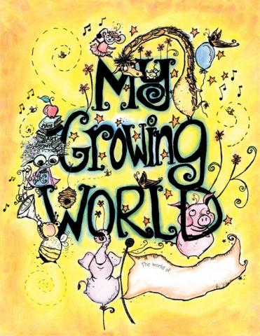 My Growing World lifebook for children ages 6-10 in the foster care system with an adoption chapter.
