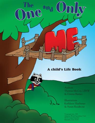 The One And Only Me adoption lifebook for children in foster care