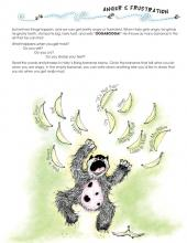 A worksheet from My Growing World life book; explores how the kid reacts when they are angry.