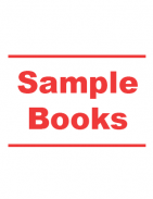 Sample sets of our books